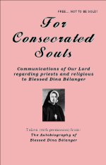 For Consecrated Souls Printable Booklet