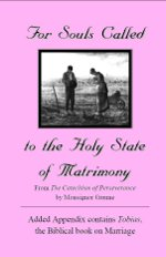 For Those Called to the Holy State of Matrimony Printable Booklet