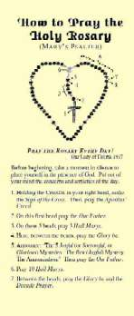 Regular Rosary Pamphlet