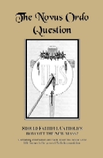 The Novus Ordo Question Printable Booklet